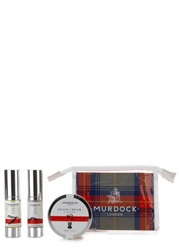 Murdock London Mini Shave Travel Set Blue