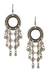 Bohemian Bead Dangle Earrings Metallic