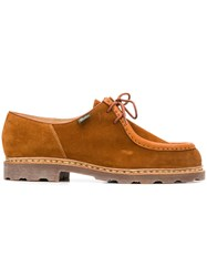 Paraboot Casual Lace Up Shoes Brown