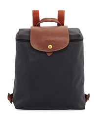 Le Pliage Nylon Backpack Gunmetal Grey Longchamp
