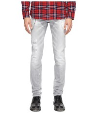 Dsquared Slim Jeans In Grey Grey Men's Jeans Gray