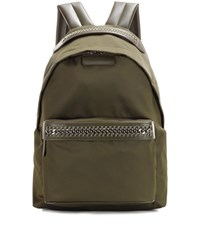 Stella Mccartney Falabella Go Backpack Green