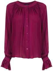 Olympiah Spinello Silk Shirt Red