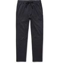 Barena Cotton Blend Pique Drawstring Trousers Navy