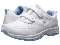 Propet Eden Strap White Powder Blue Women's Shoes