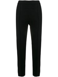Boutique Moschino Slim Fit Trousers Black
