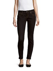 Miss Me Solid Mid Rise Skinny Fit Jeans Dark Blue