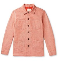 Tempus Now Organic Cotton Denim Jacket Red