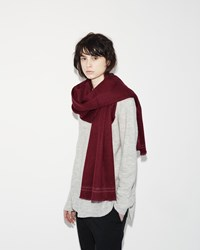 Hope Classic Scarf Dark Red