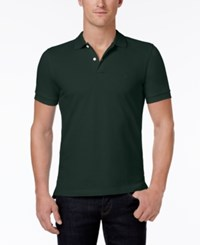 Brooks Brothers Red Fleece Men's Pique Knit Cotton Polo Dark Green