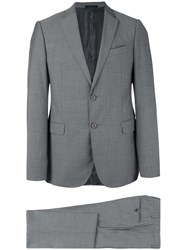 Armani Collezioni Three Piece Suit Grey
