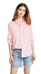 Frank And Eileen Button Down Shirt Bright Pink