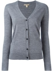 Burberry Brit Buttoned Cardigan Grey