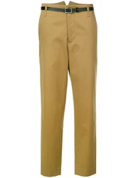 Golden Goose Deluxe Brand Chino Trousers Women Cotton M Brown
