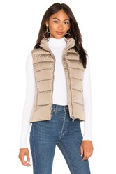 Add Down Vest Taupe