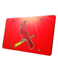 Rico Industries St. Louis Cardinals Laser Tag License Plate Red