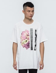 Black Scale Natural Geometry S S T Shirt