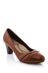 Godiva Muray Heel Brown
