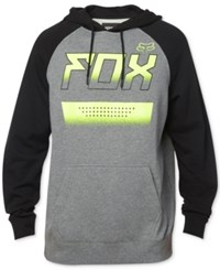 Fox Men's Graphic Print Sweatshirt Heather Graphite