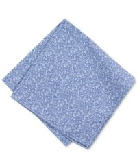 Bar Iii Men's China Blue Floral Pocket Square Only At Macy's