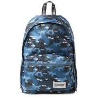 Maison Kitsune X Eastpak Out Of Office Backpack Blue