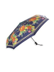 Mackenzie Childs Flower Market Travel Umbrella No Color