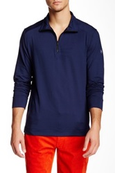 Victorinox Half Zip Signature Blue Sweater