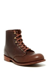 Walk Over Jagger Moose Leather Hiking Boot Brown