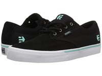 Etnies Jameson Vulc Black Teal Women's Skate Shoes
