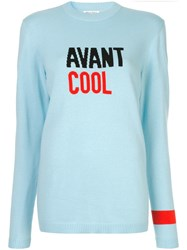 Bella Freud Avant Cool Jumper Blue