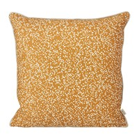Ferm Living Dottery Cushion Curry