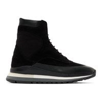 Spalwart Black Trail Blazer Boot Sneakers