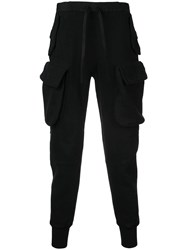 Unravel Project Tapered Trousers Black