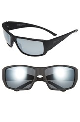 Smith Men's 'Guide's Choice' 62Mm Polarized Sunglasses Matte Black Platinum Matte Black Platinum