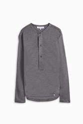 Orlebar Brown Men S Selby Linen Top Boutique1 Grey