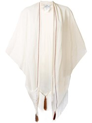 Forte Forte Fringed Scarf White