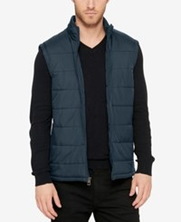 Kenneth Cole Men's Puffer Vest Charcoal