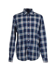 9.2 By Carlo Chionna Shirts Shirts Men Blue