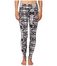The North Face Pulse Tight Tnf Black Kaleidoscope Print Women's Workout