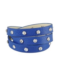 George J. Love Bracelets Blue
