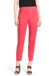 Women's Chaus 'Courtney' Side Zip Ankle Pants Exotic Pink