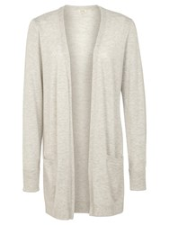 Fat Face Amber Edge To Edge Cardigan Light Grey
