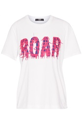 Markus Lupfer Alex Printed T Shirt White