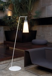 Tango Lighting Sasha Outdoor Floor Lamp White