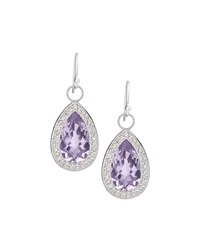 Jude Frances Soho Lavender Amethyst Earrings