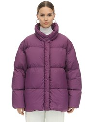 Ienki Ienki Cloud Ultra Light Matte Down Jacket Purple