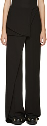 Off White Black Layered Skirt Trousers