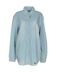 Fixdesign Atelier Denim Shirts Blue