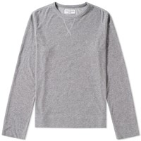 Officine Generale Japanese Terry Reversed Sweat Grey