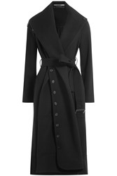 Roland Mouret Wool Coat Black